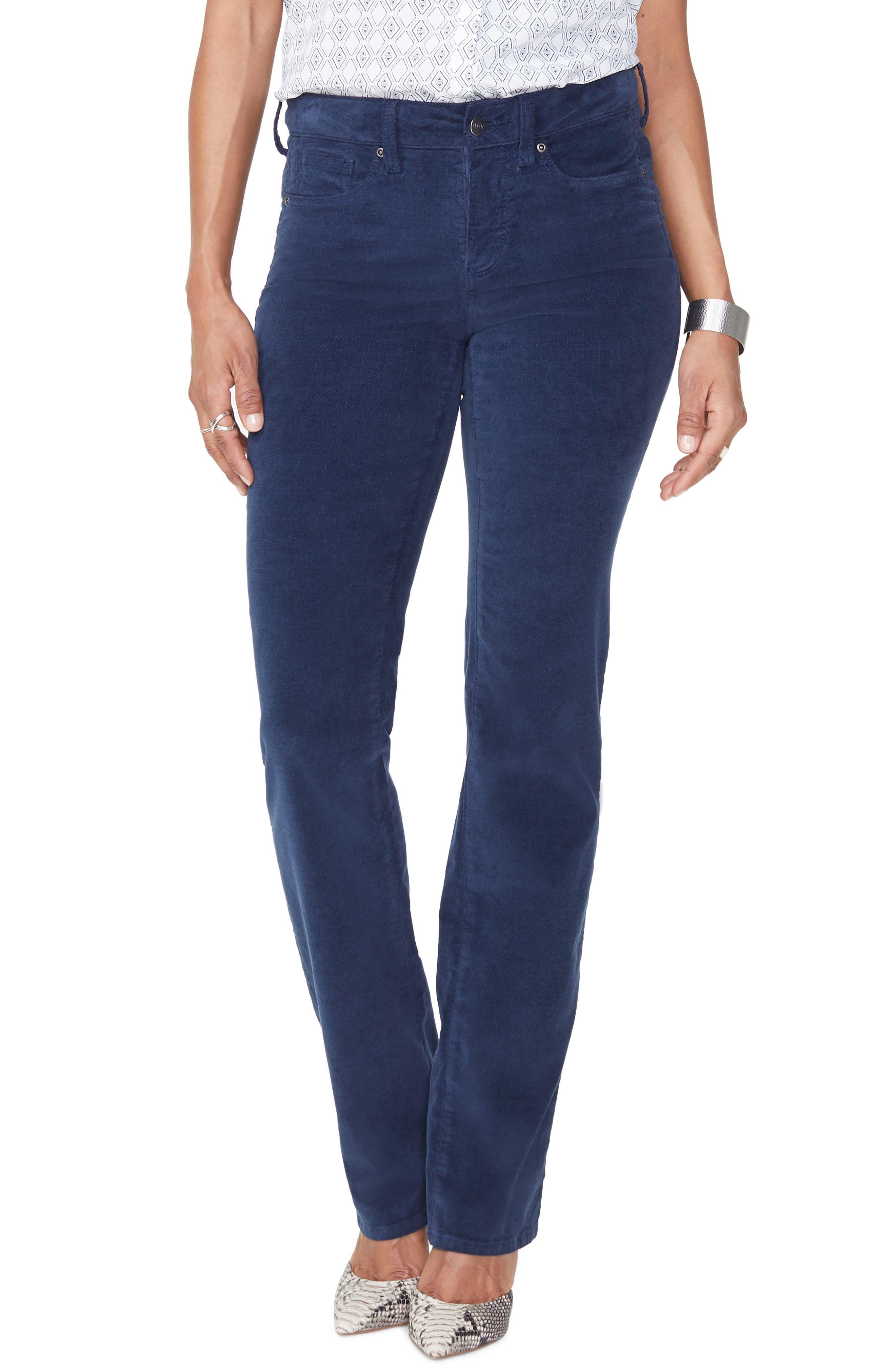 Women's NYDJ Marilyn Straight Leg Velveteen Pants