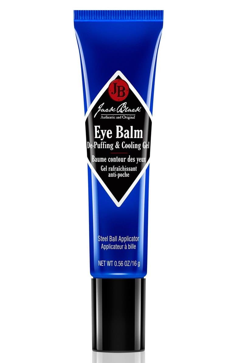 JACK BLACK Eye Balm De-Puffing & Cooling Gel, Main, color, NO COLOR