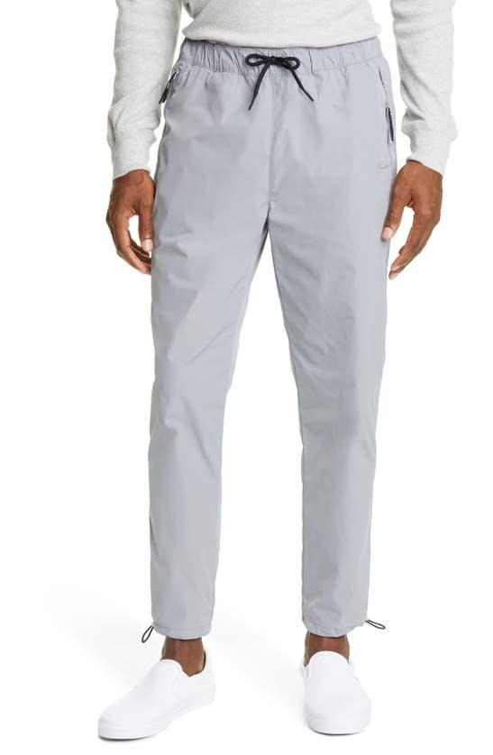 Ovadia Meadow Trail Drawstring Pants In Grey