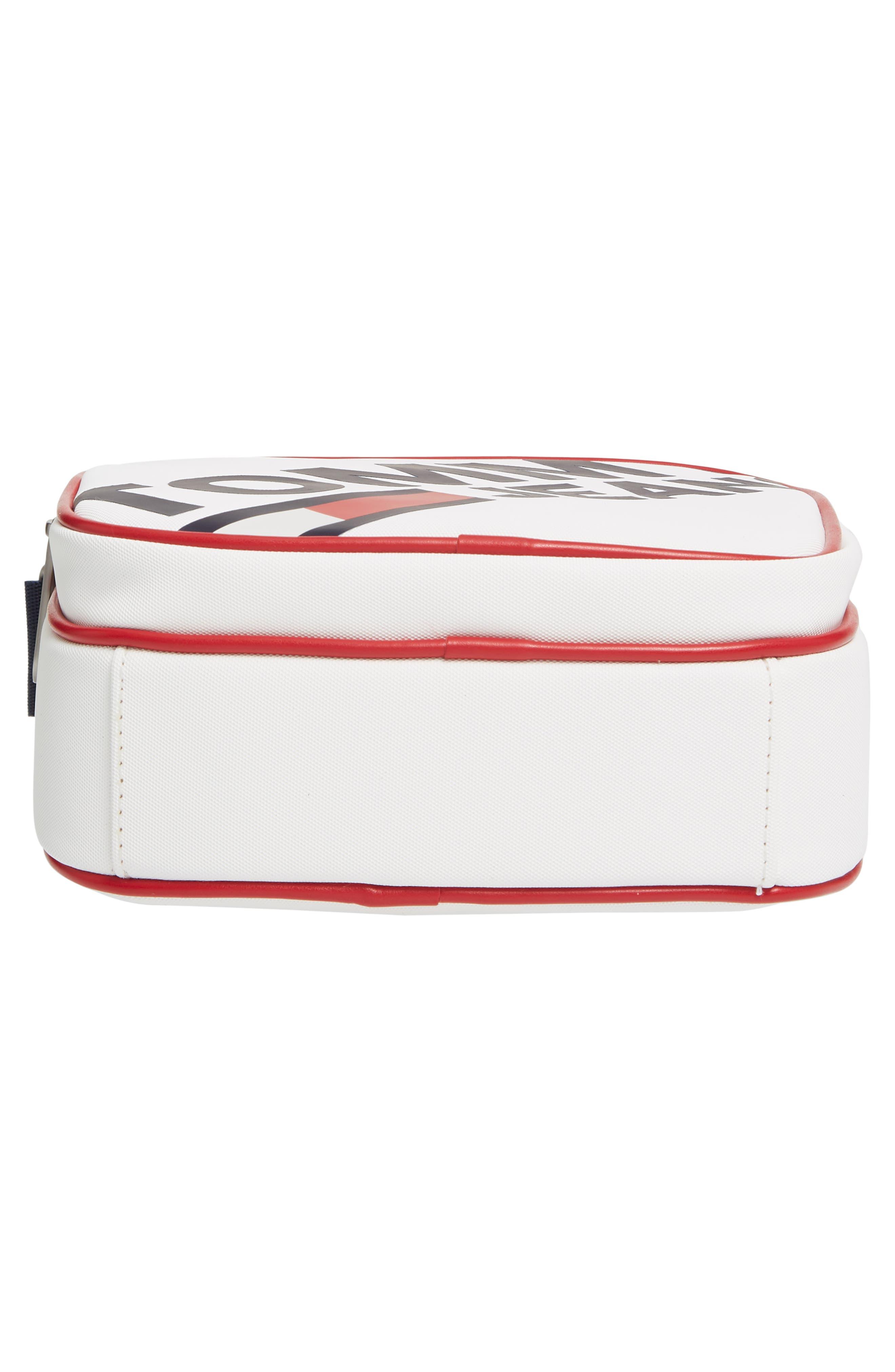 ,                             Modern Prep Reporter Mini Crossbody Bag,                             Alternate thumbnail 7, color,                             CLASSIC WHITE
