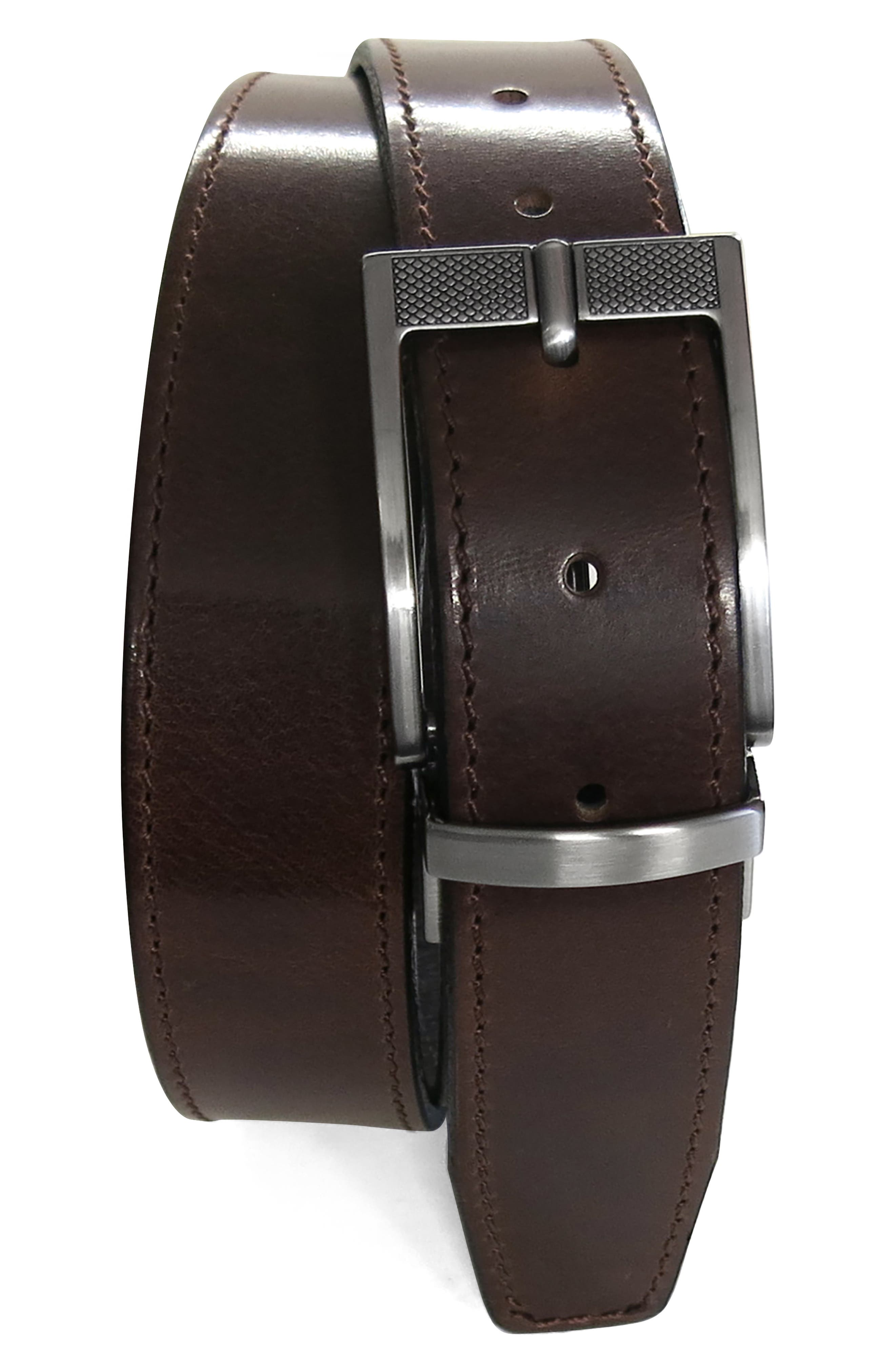 Vaughan Reversible Leather Belt
