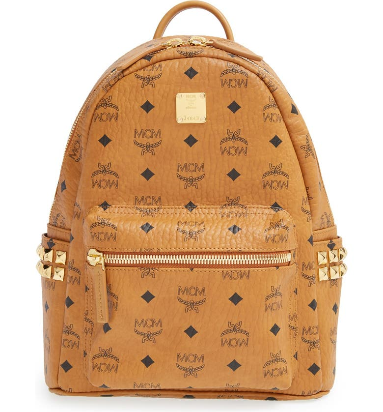 MCM 'Small Stark' Side Stud Backpack, Main, color, 200