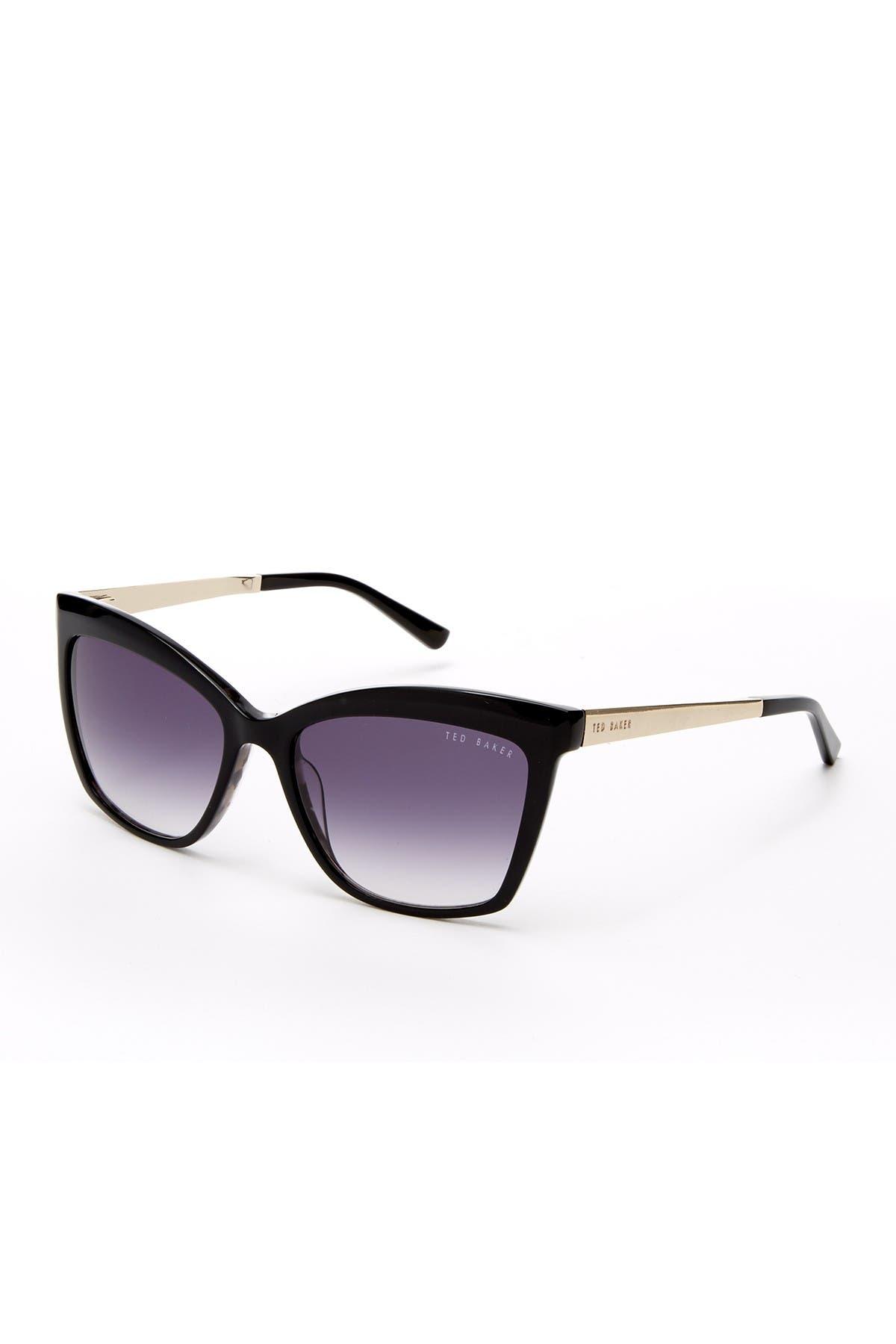 Image of Ted Baker London Square Cat Eye 56mm Sunglasses