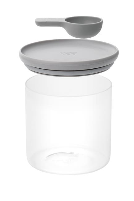 Image of BergHOFF Grey 1.2 Quart Leo Glass Food Container