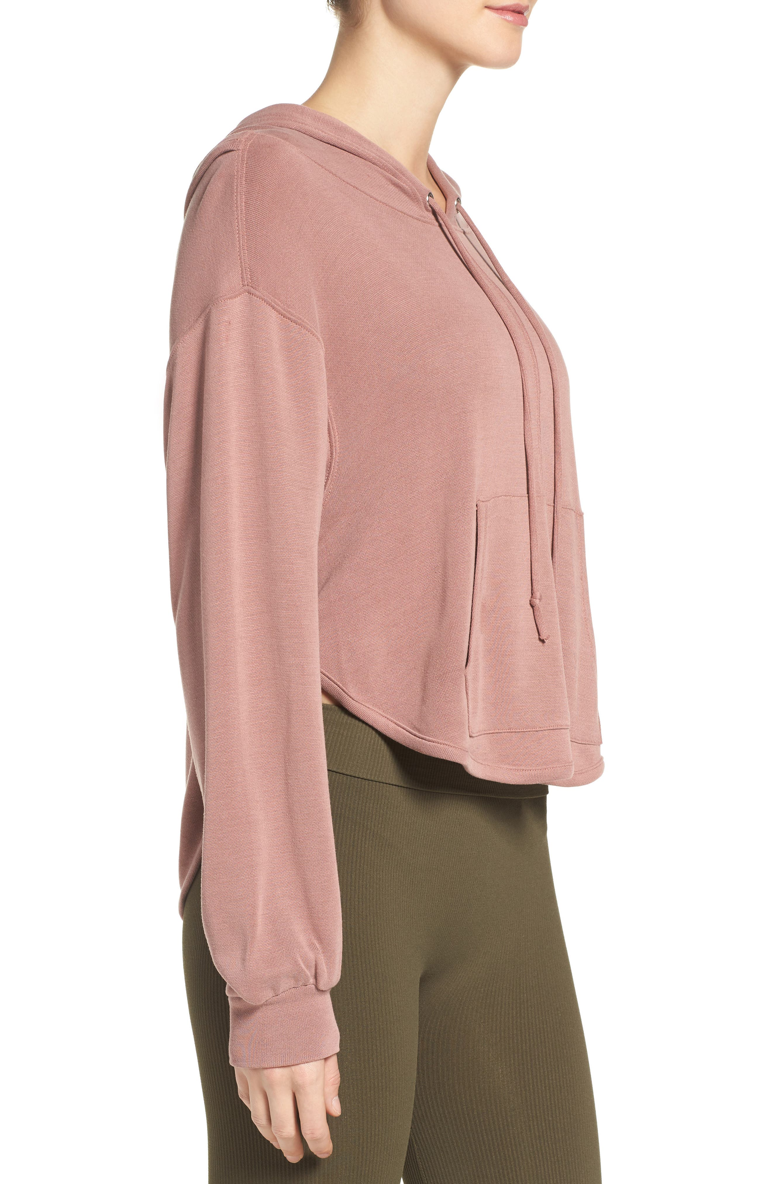 ,                             Back Into It Cutout Hoodie,                             Alternate thumbnail 31, color,                             650