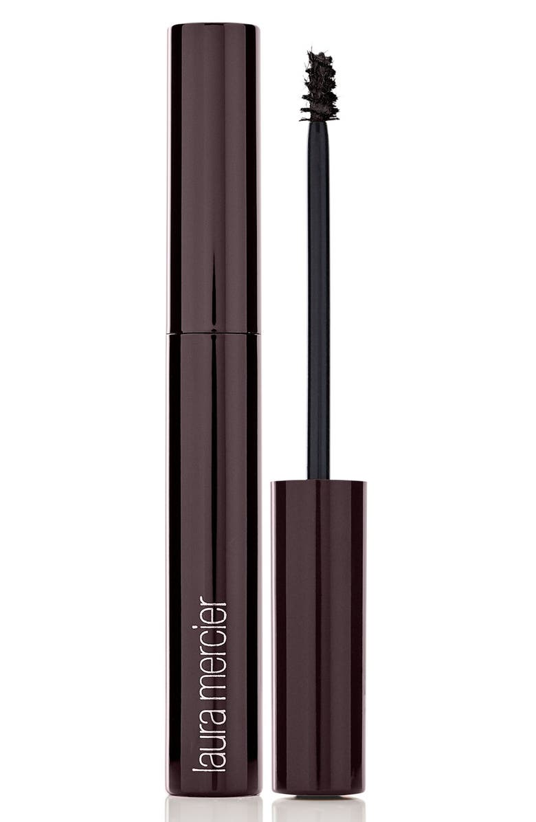 LAURA MERCIER Brow Dimension Fiber Infused Color Gel, Main, color, BLACK