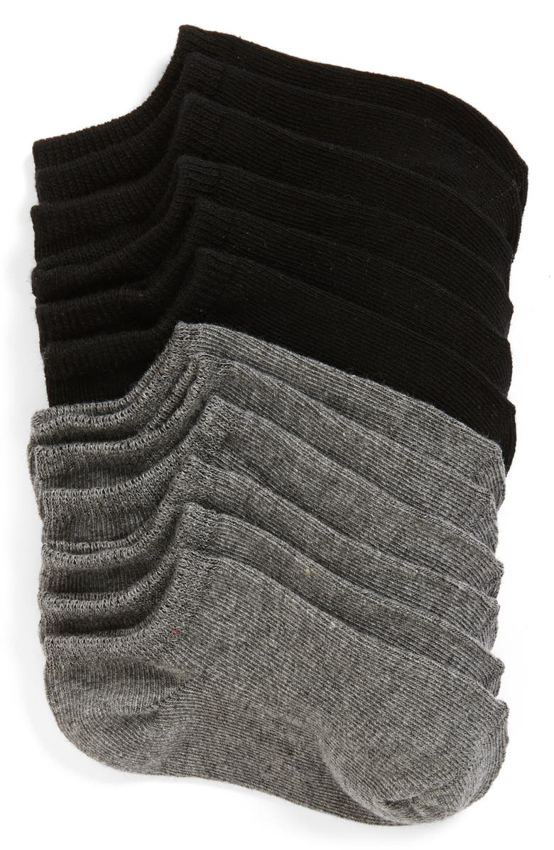 TUCKER + TATE 6-Pack Low Cut Socks, Main, color, MULTI
