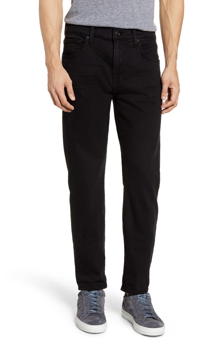 7 FOR ALL MANKIND<SUP>®</SUP> Adrien Slim Fit Jeans, Main, color, ANNEX BLACK