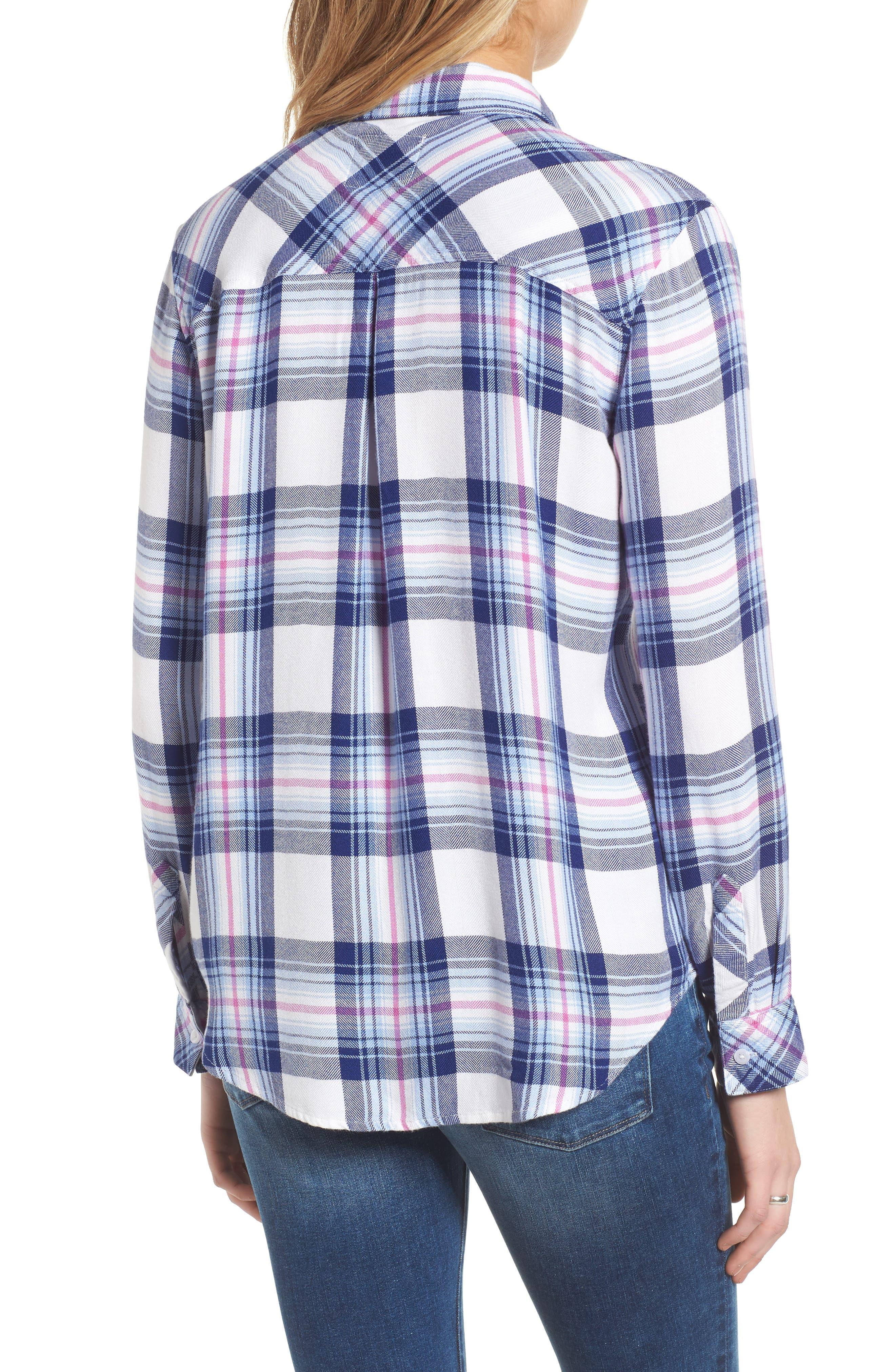 ,                             Hunter Plaid Shirt,                             Alternate thumbnail 466, color,                             104