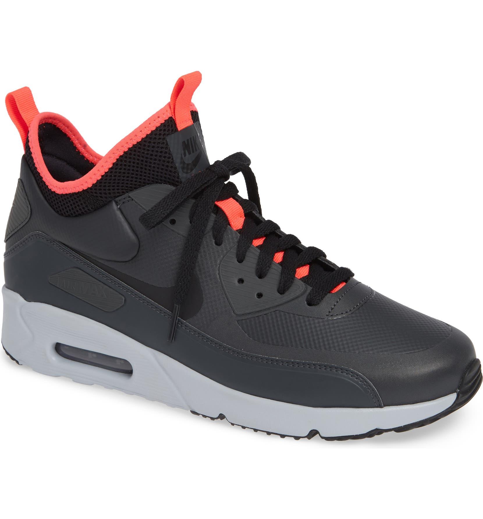 NIKE AIR MAX 90 ULTRA MID WINTER Herren Black Sneaker