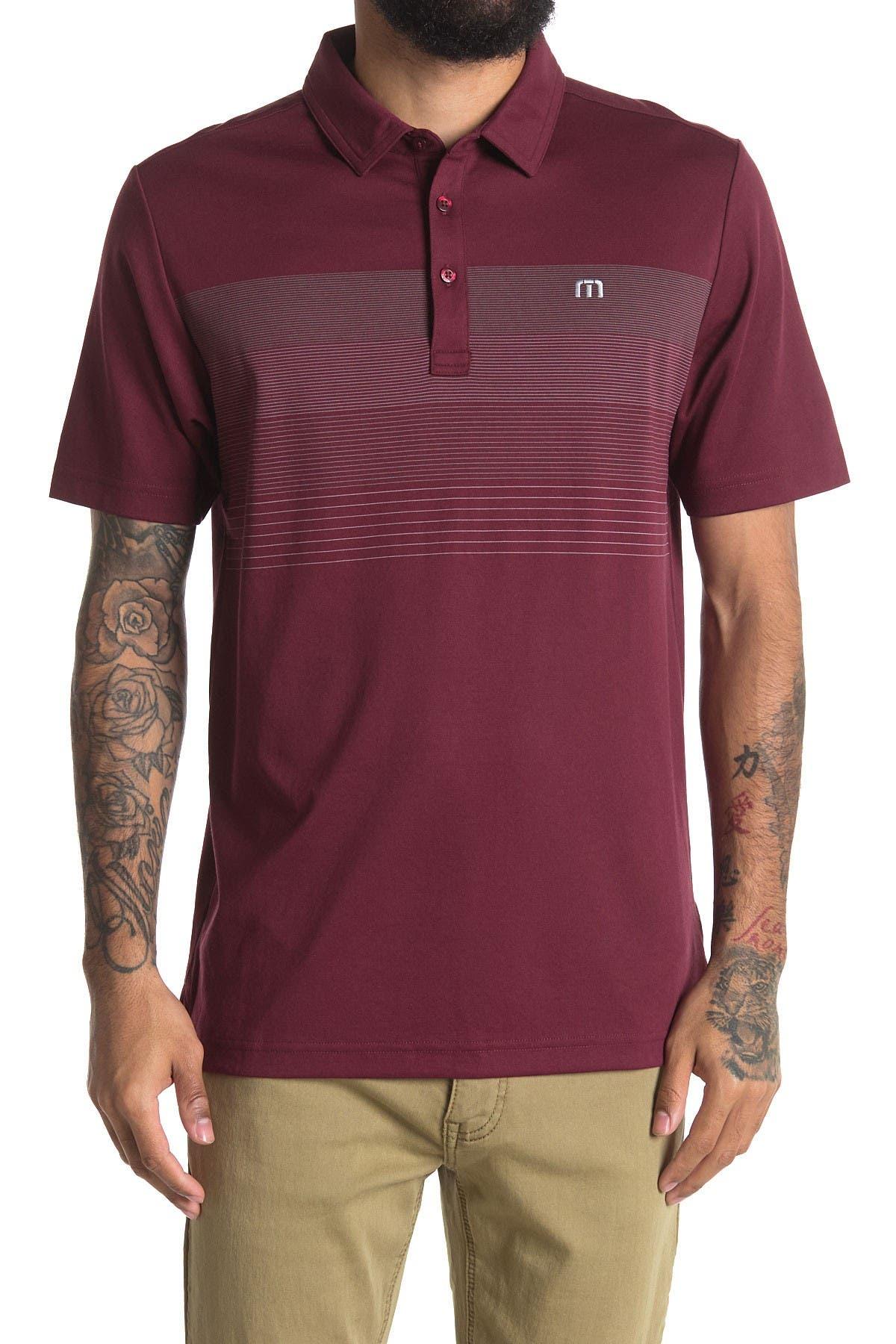 Image of TRAVIS MATHEW Open to Buy Short Sleeve Polo