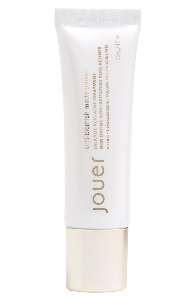 JOUER Anti Blemish Matte Primer, Main, color, NO COLOR