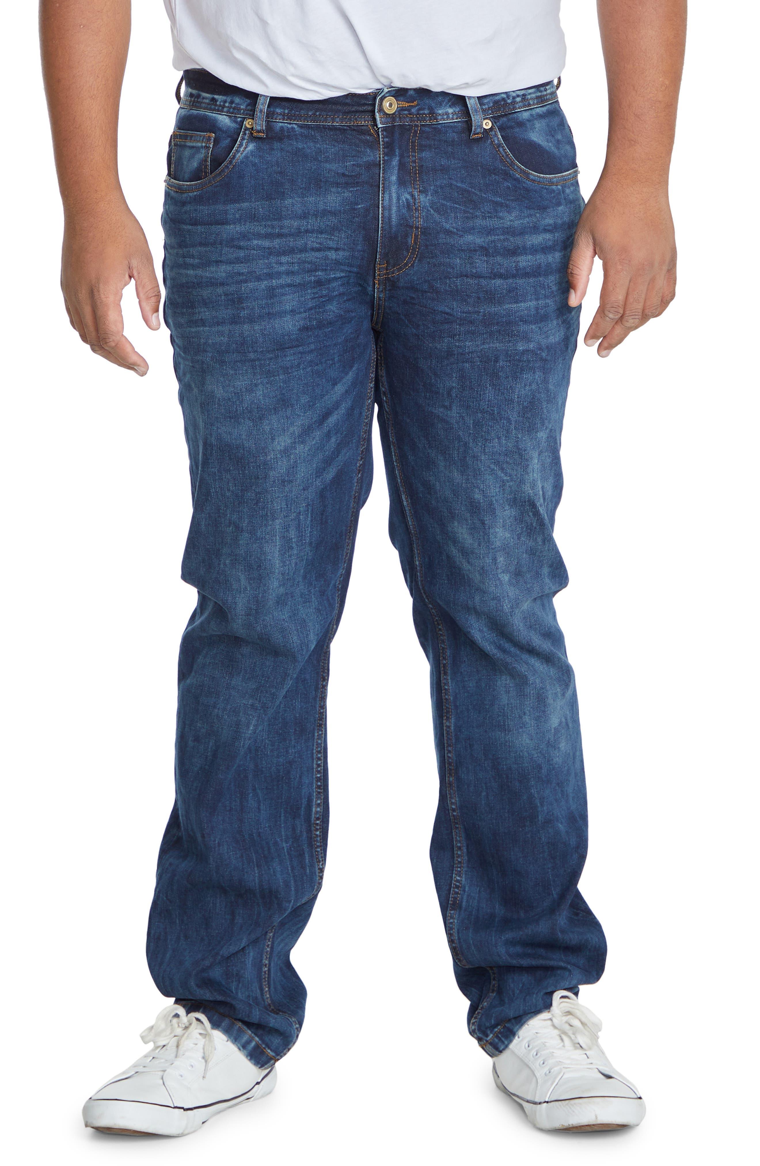Sixx Straight Leg Jeans