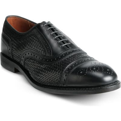Allen Edmonds Strand Weave Toe Oxford - Black