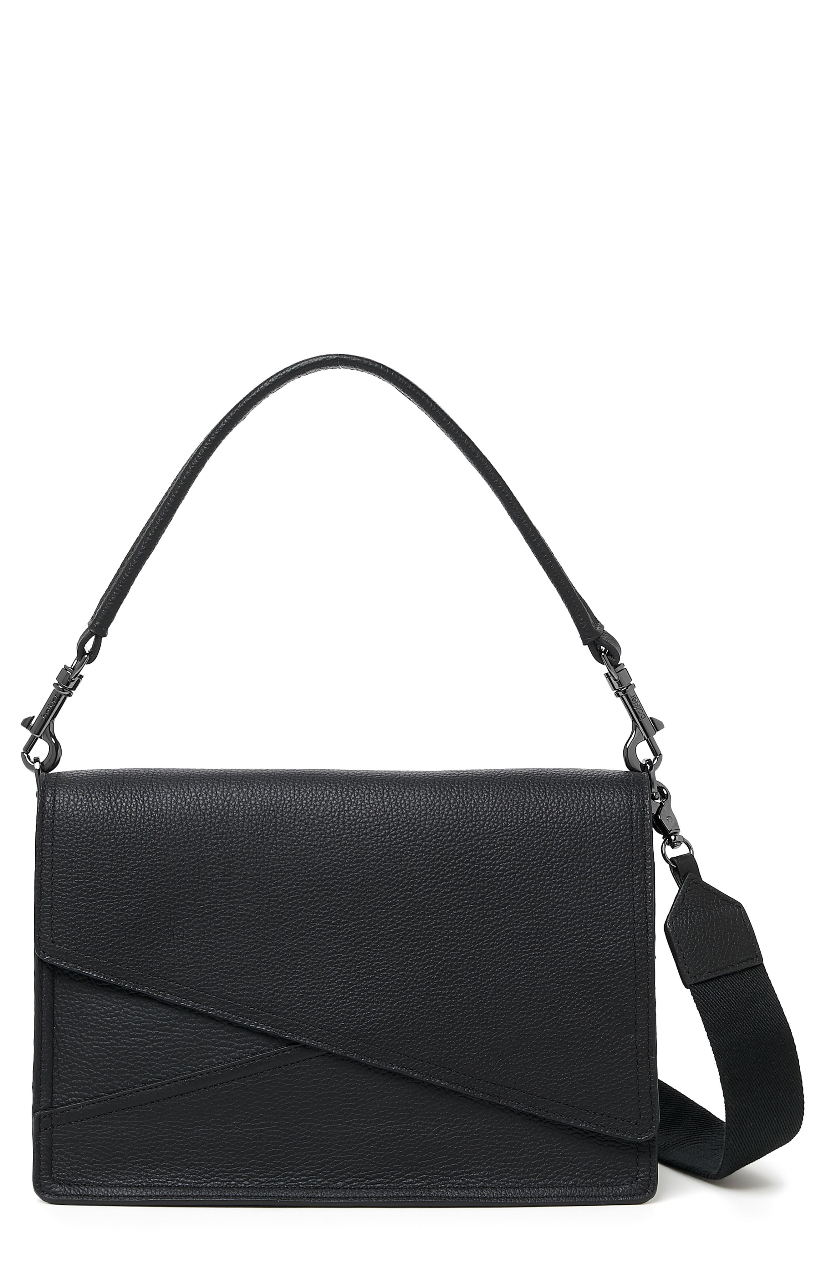 Crosstown Leather Hobo