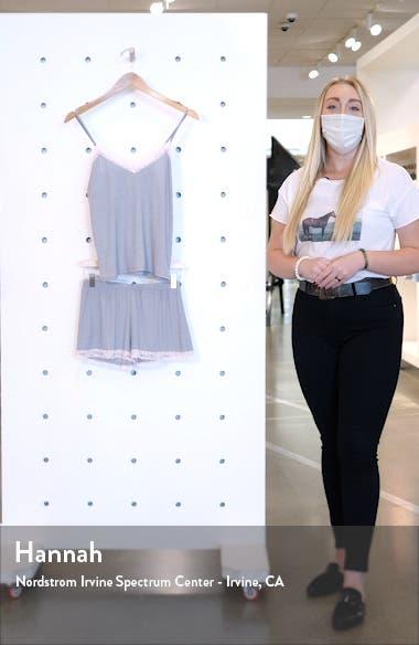 Flora Nikrooz Lou Lou Pointelle Lace Trim Camisole Pajamas, sales video thumbnail