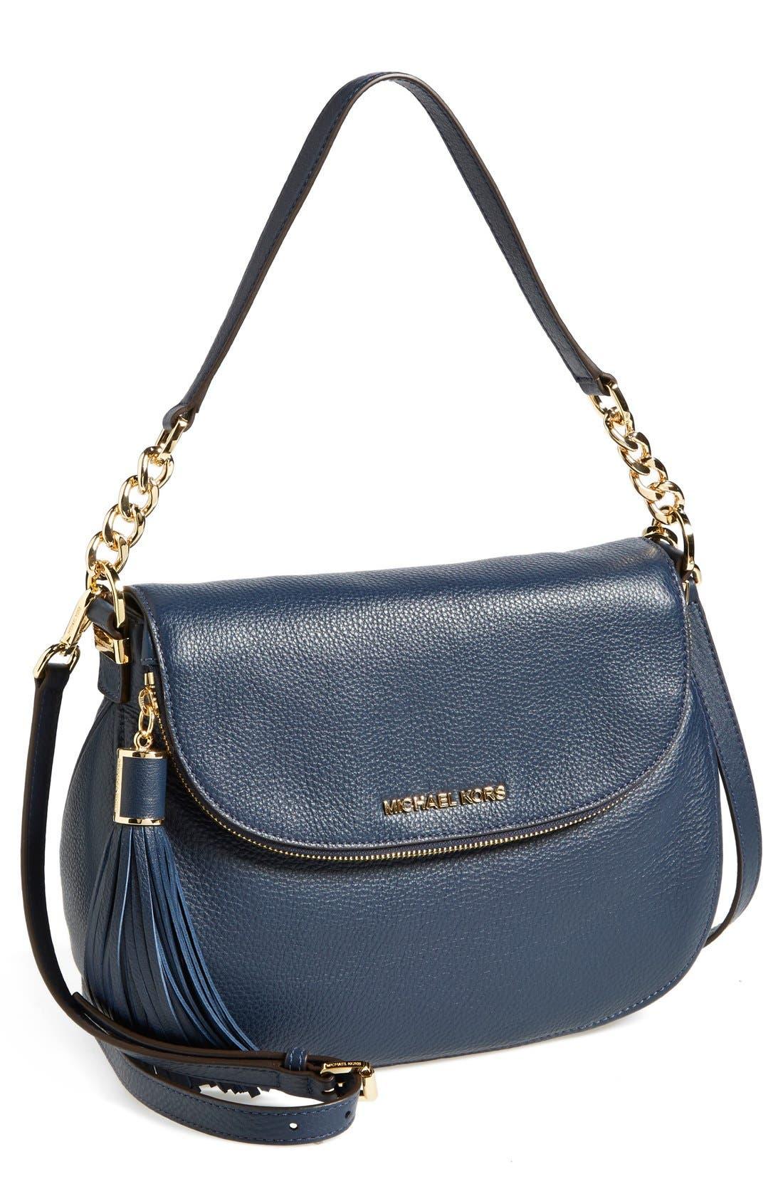 ,                             'Bedford Tassel - Medium' Convertible Leather Shoulder Bag,                             Main thumbnail 26, color,                             406