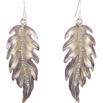 Alexis Bittar Feather Drop Earrings