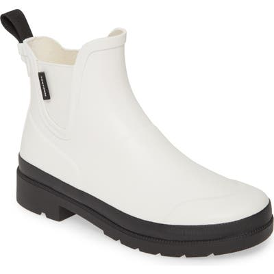Tretorn Lina3 Waterproof Chelsea Rain Boot, White