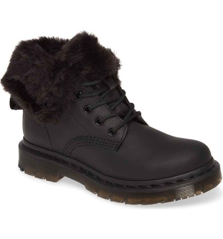 DR. MARTENS 1460 Kolbert Boot, Main, color, BLACK