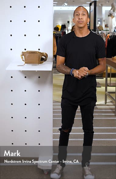 Pulse Leather Belt Bag, sales video thumbnail