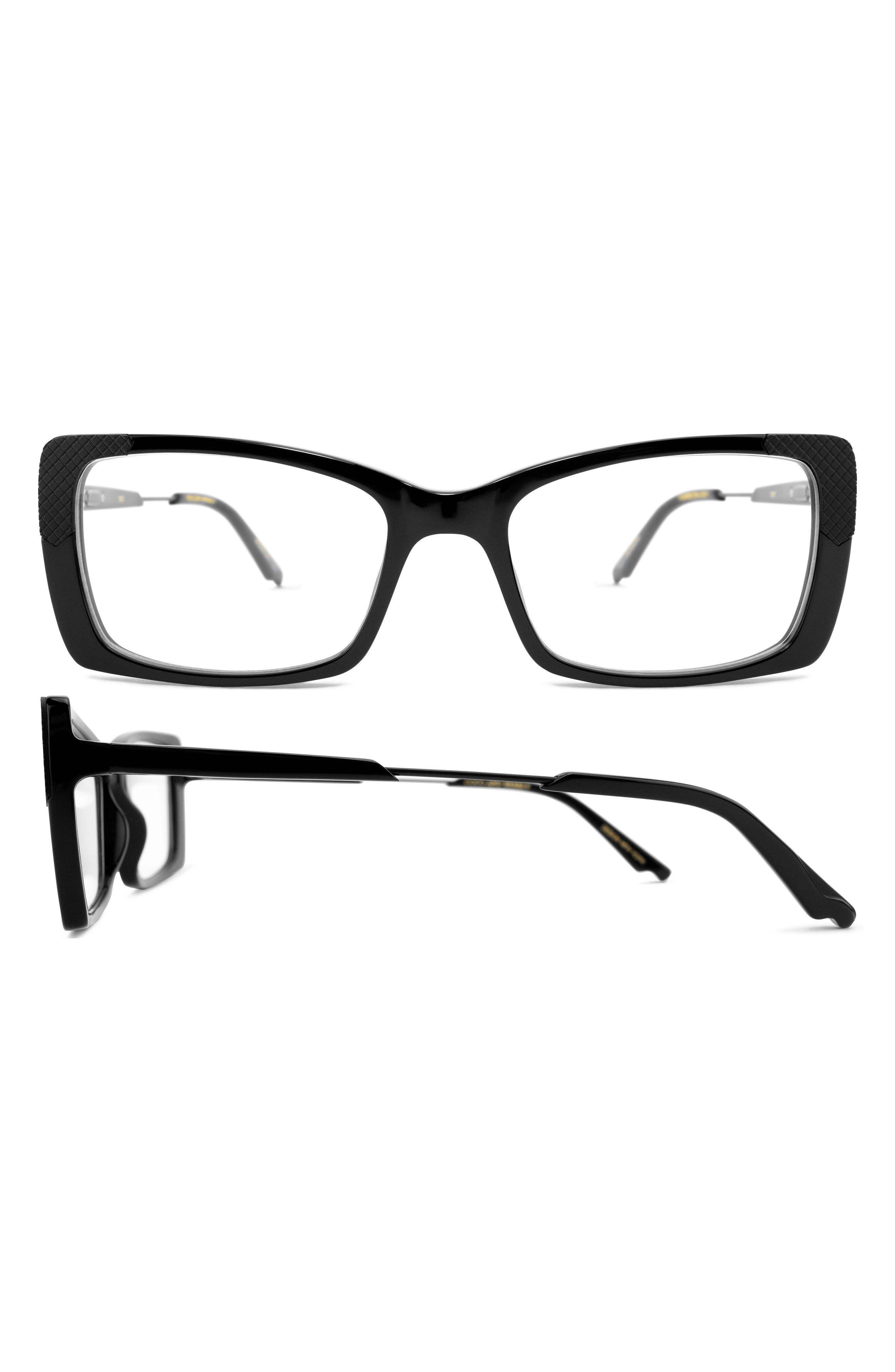 Clarity 53mm Rectangular Blue Light Filtering Glasses