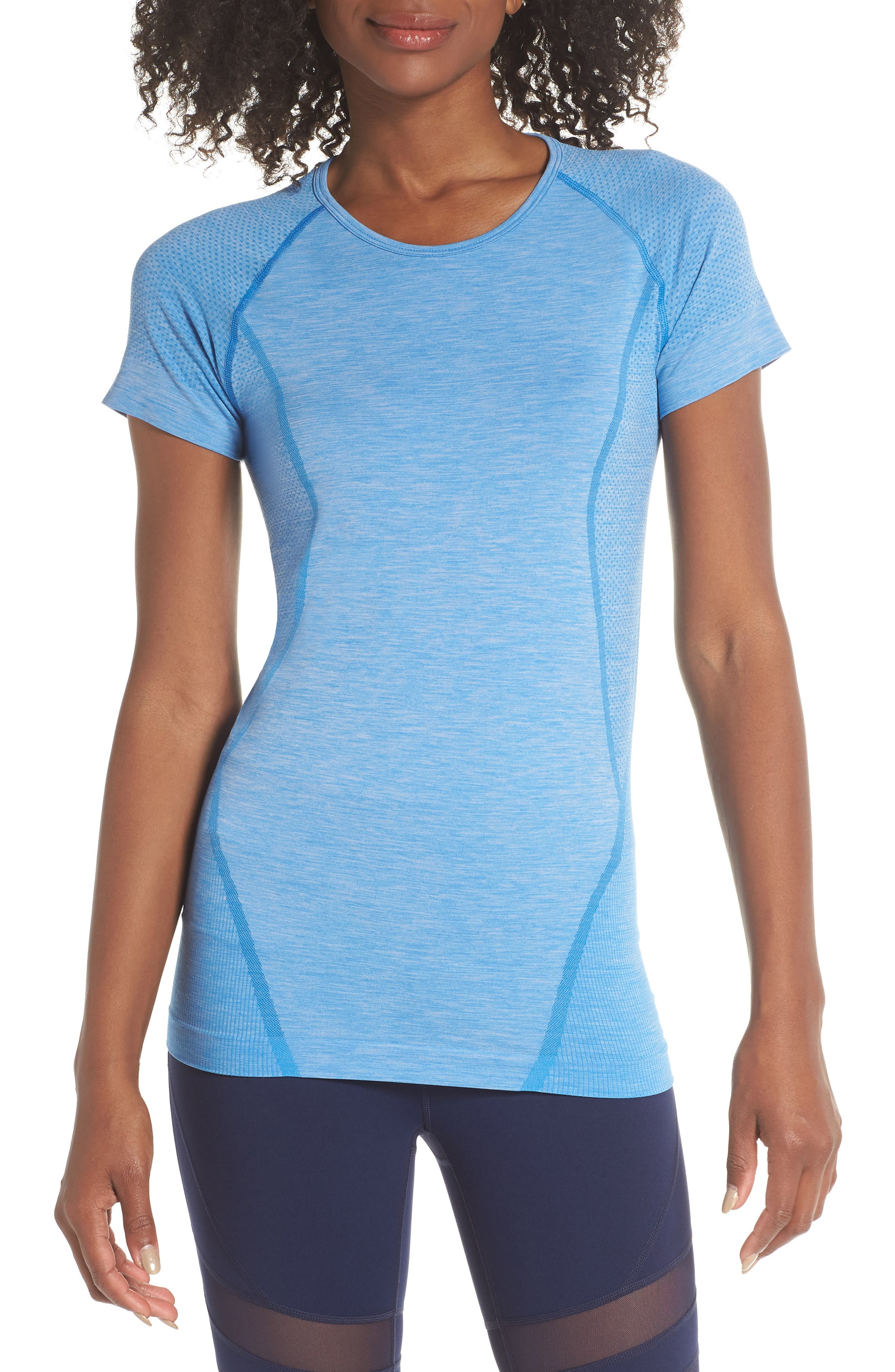 ,                             Stand Out Seamless Training Tee,                             Main thumbnail 20, color,                             451
