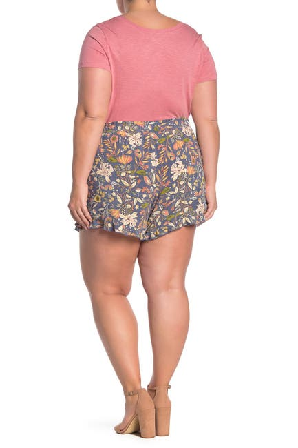 Image of SUSINA Floral Soft Shorts
