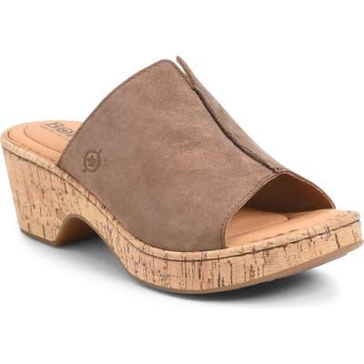B?rn Asho Slide Sandal, Metallic