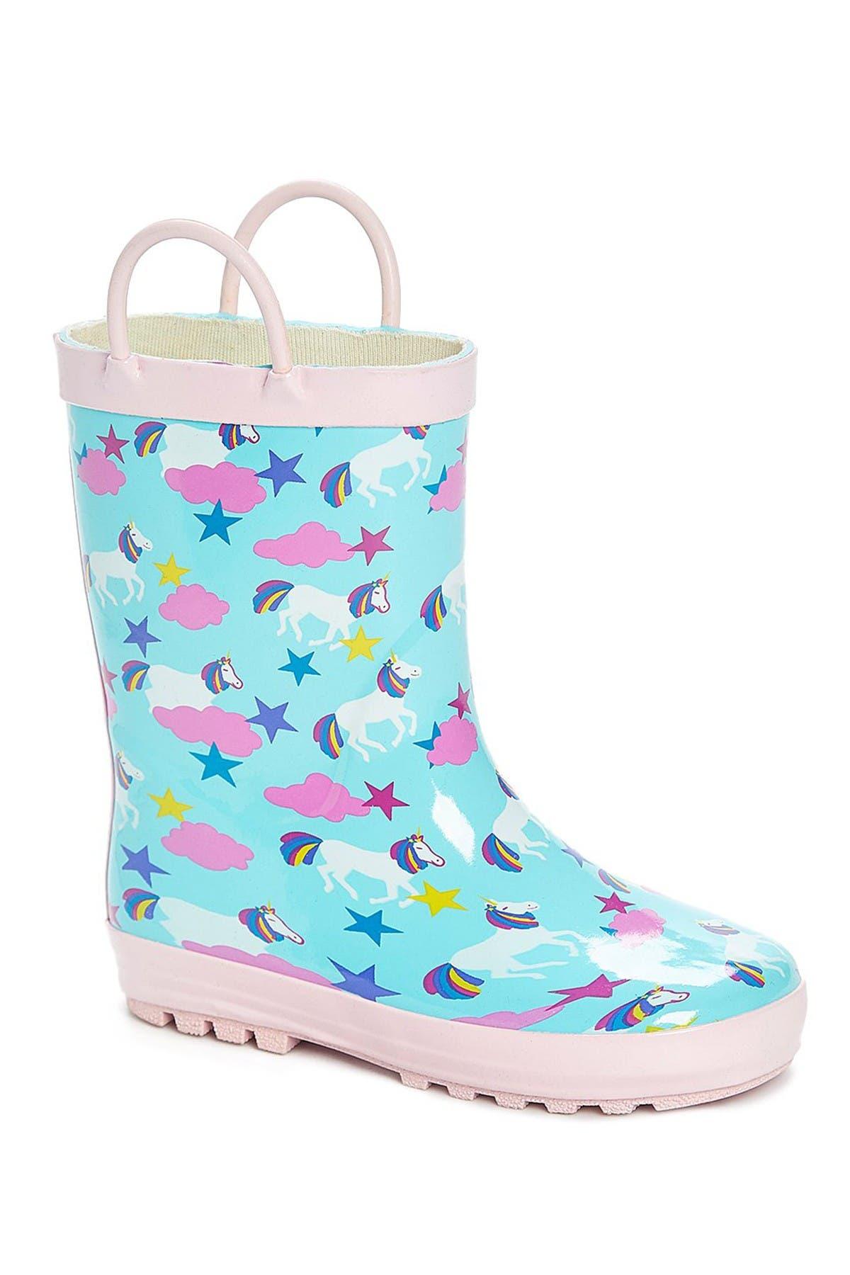 LILLY OF NEW YORK Unicorn Rain Boot