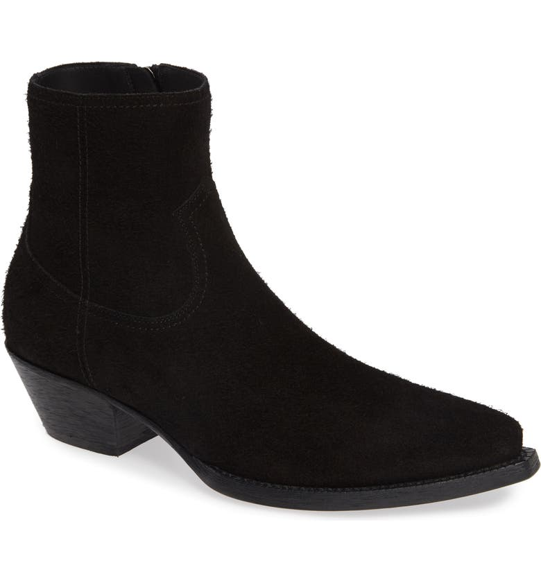 SAINT LAURENT Lukas 40 Zip Boot, Main, color, NERO