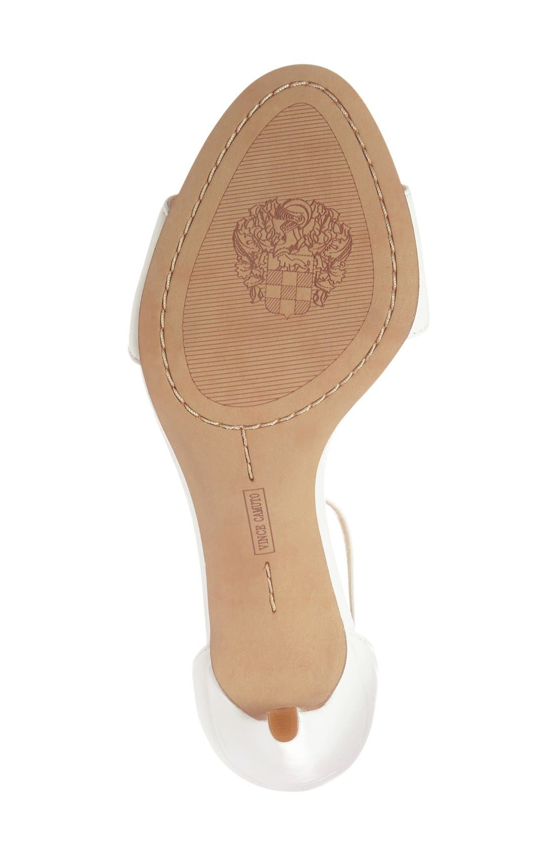 ,                             'Court' Ankle Strap Sandal,                             Alternate thumbnail 47, color,                             110