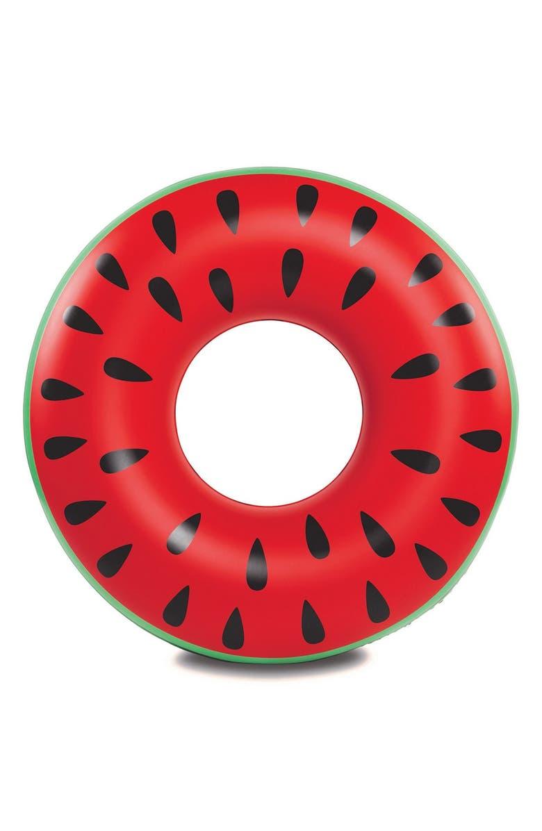 BIGMOUTH INC . Giant Watermelon Slice Pool Floatie, Main, color, 650