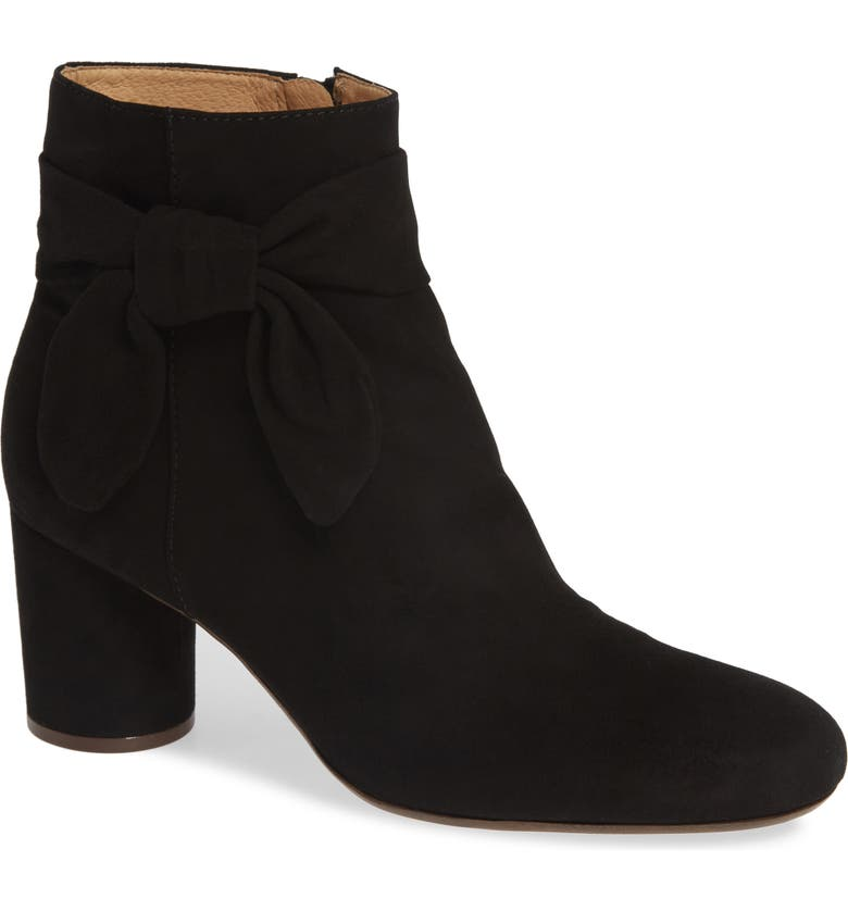 MADEWELL Gavi Bow Bootie, Main, color, 001