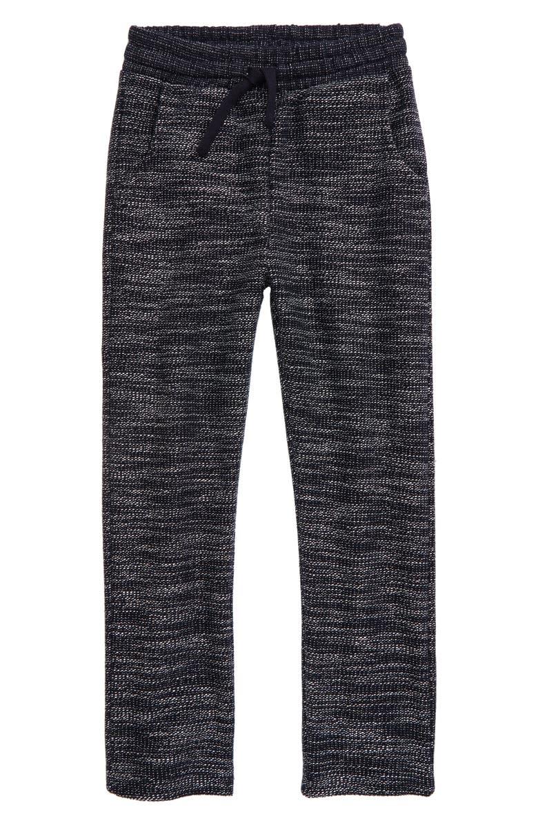 MILES BABY Knit Jogger Pants, Main, color, 604 NAVY
