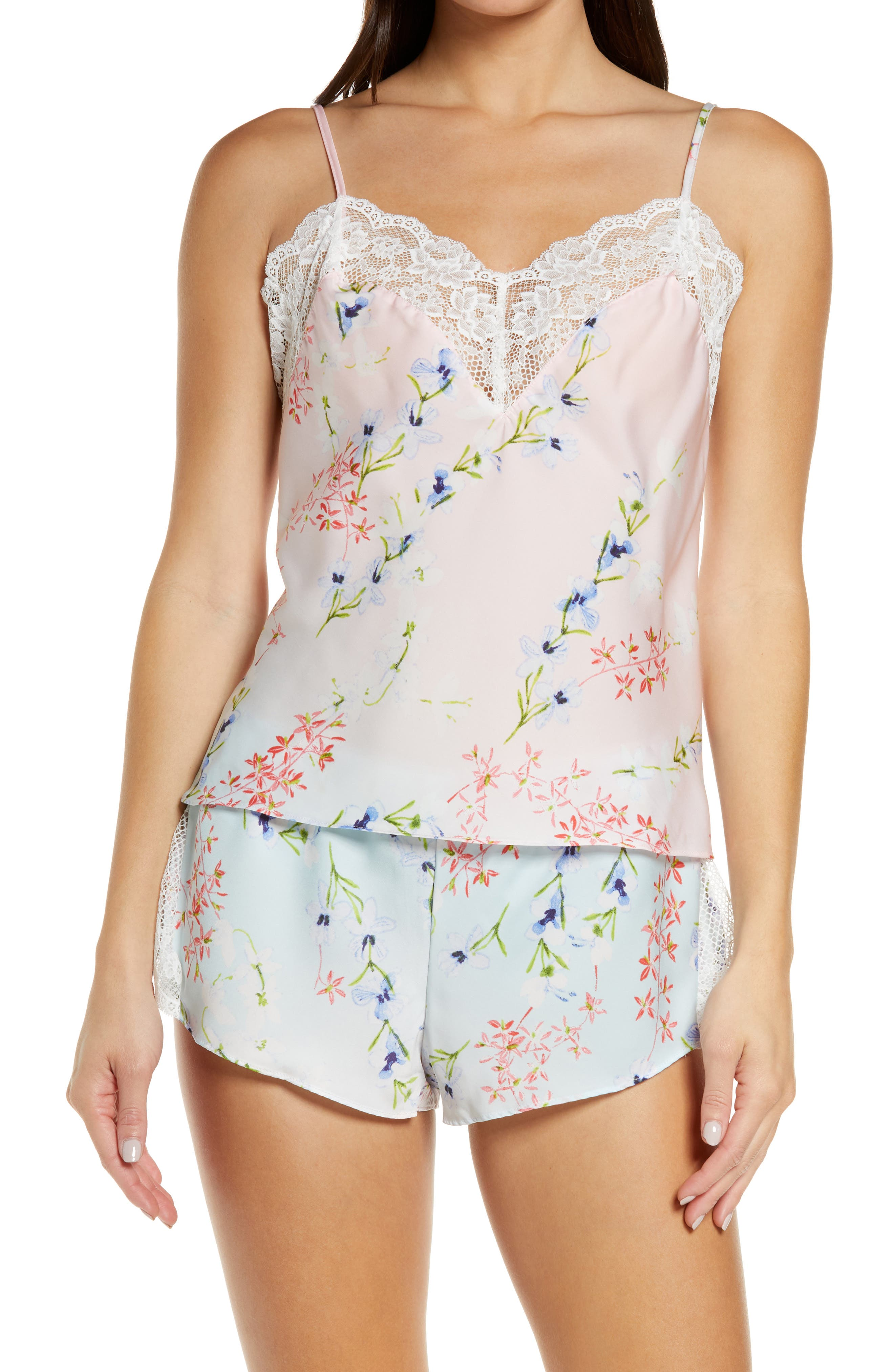 Cami Satin Short Pajamas