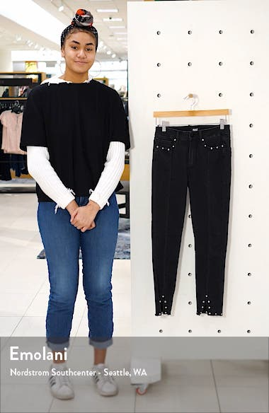 Transcend Vintage Hoxton High Waist Ankle Skinny Jeans, sales video thumbnail