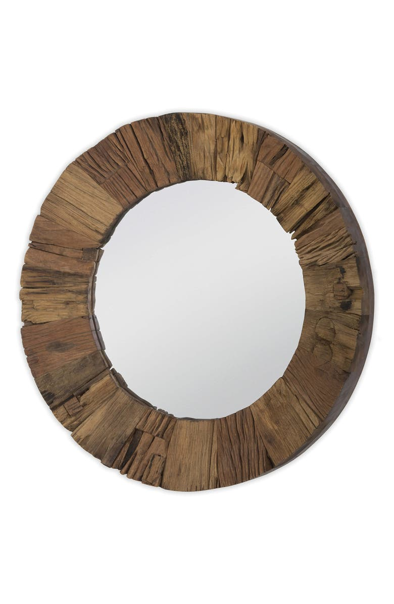 REGINA ANDREW Concave Reclaimed Wood Mirror, Main, color, 201