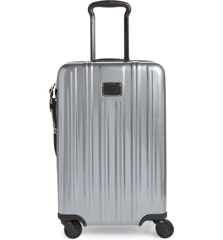 TUMI V3 International 22-Inch Expandable Spinner Carry-On, Main, color, SILVER