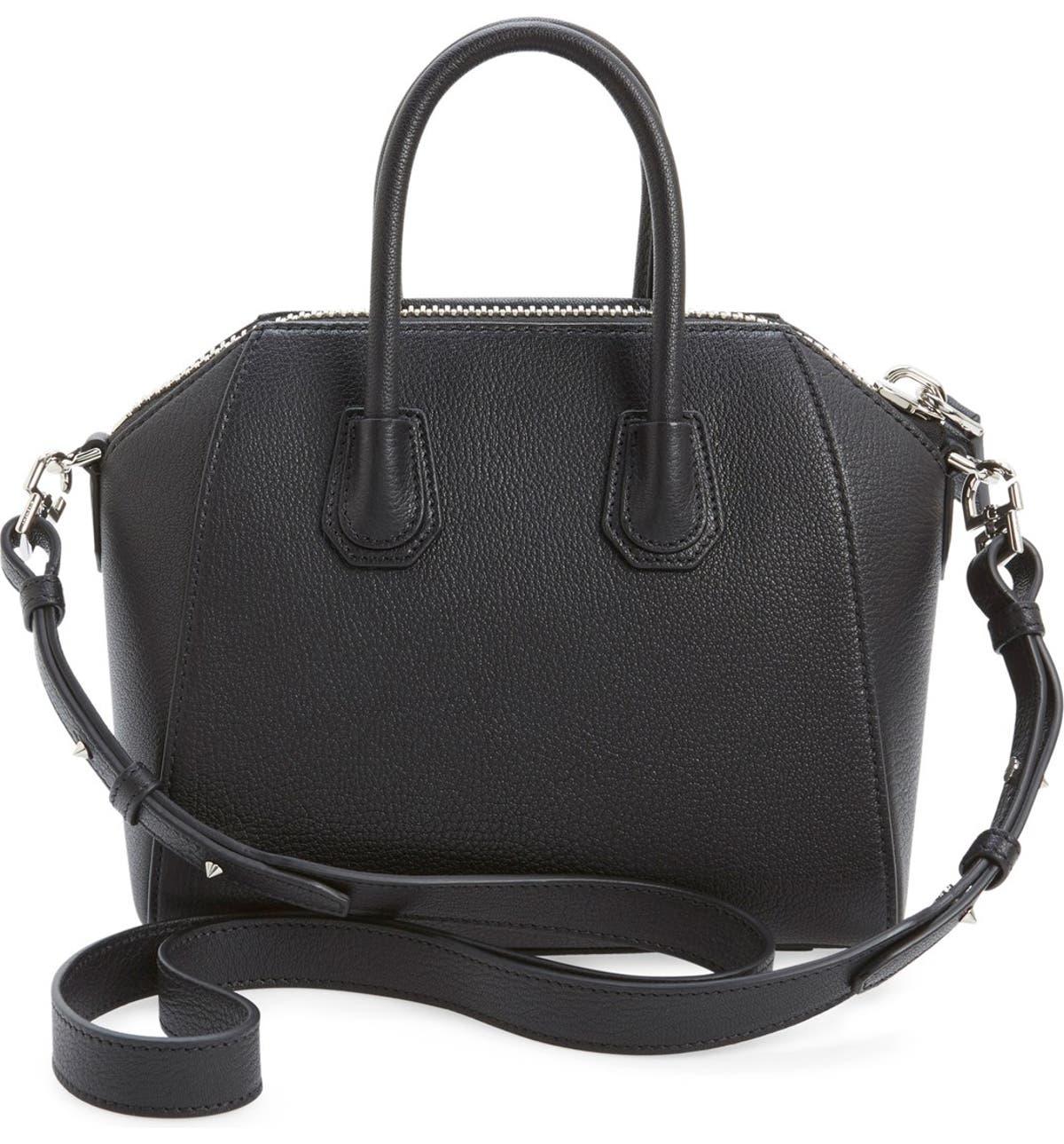91dce125a1b5a Givenchy 'Mini Antigona' Sugar Leather Satchel | Nordstrom