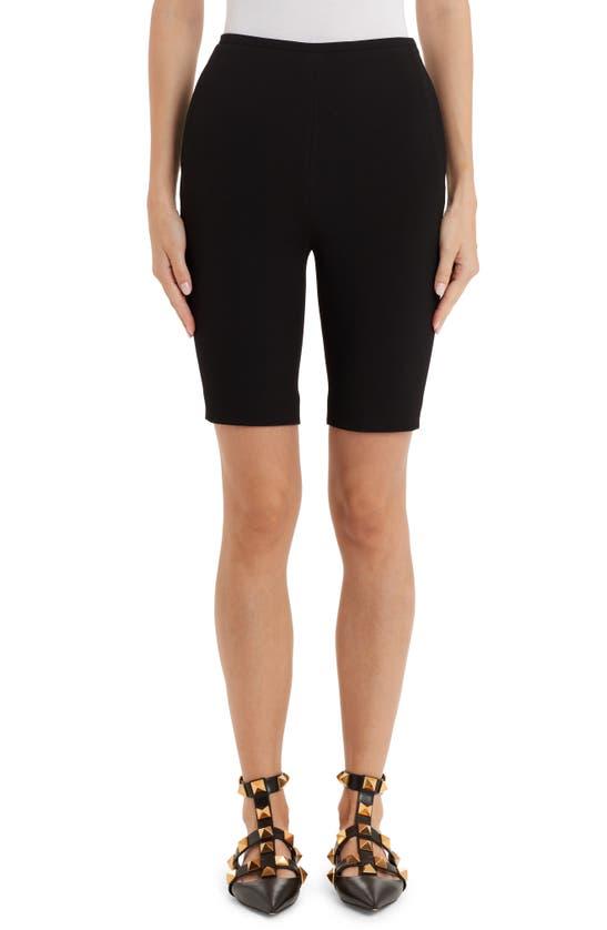 Valentino Shorts STRETCH CREPE BERMUDA SHORTS
