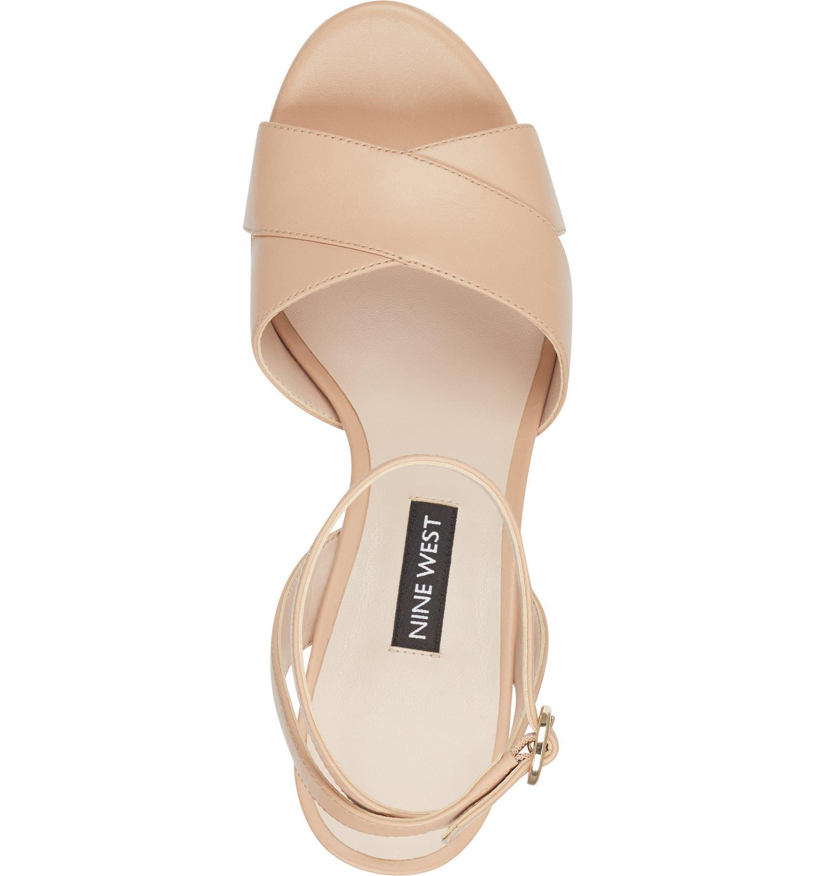 aff889c4c5 Nine West Quisha Ankle Strap Sandal (Women) | Nordstrom