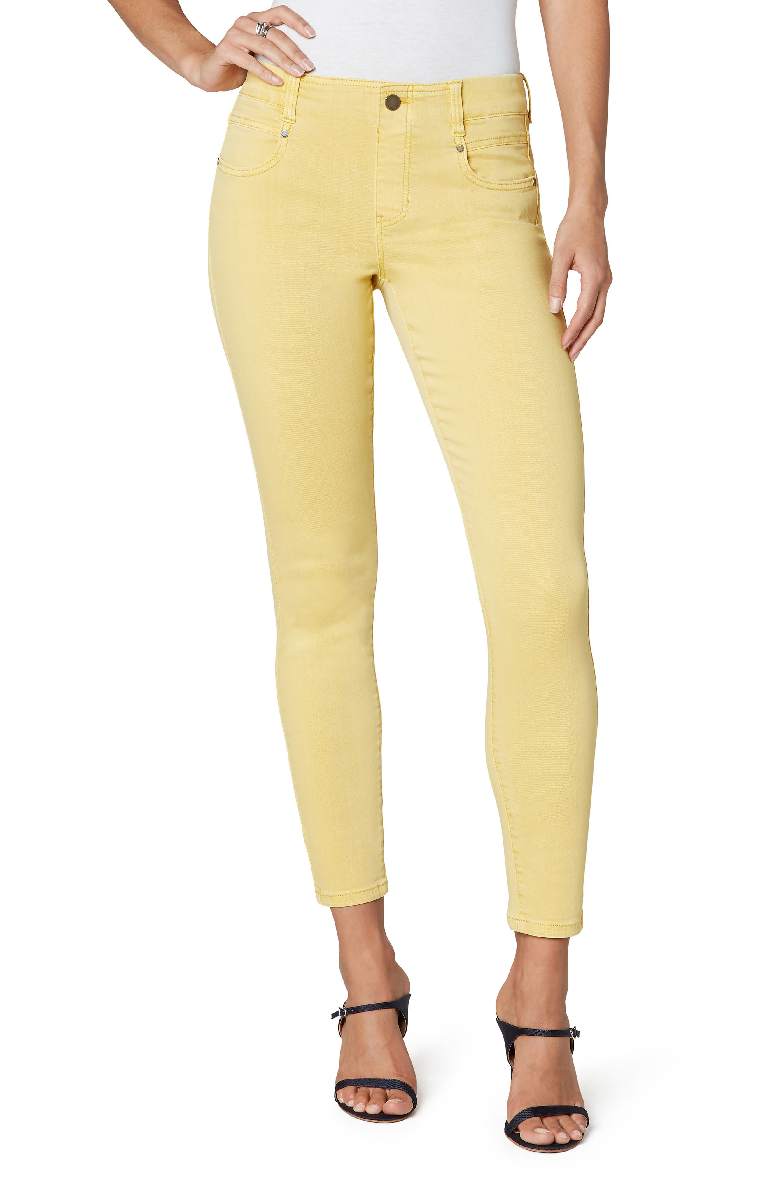Gia Glider Ankle Skinny Jeans