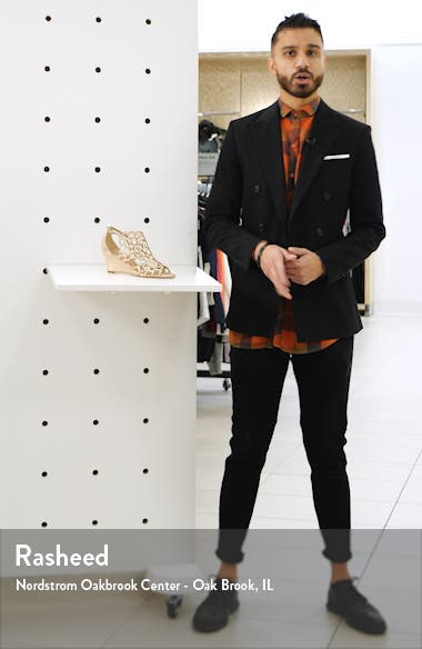 Millie Cutout Wedge Sandal, sales video thumbnail