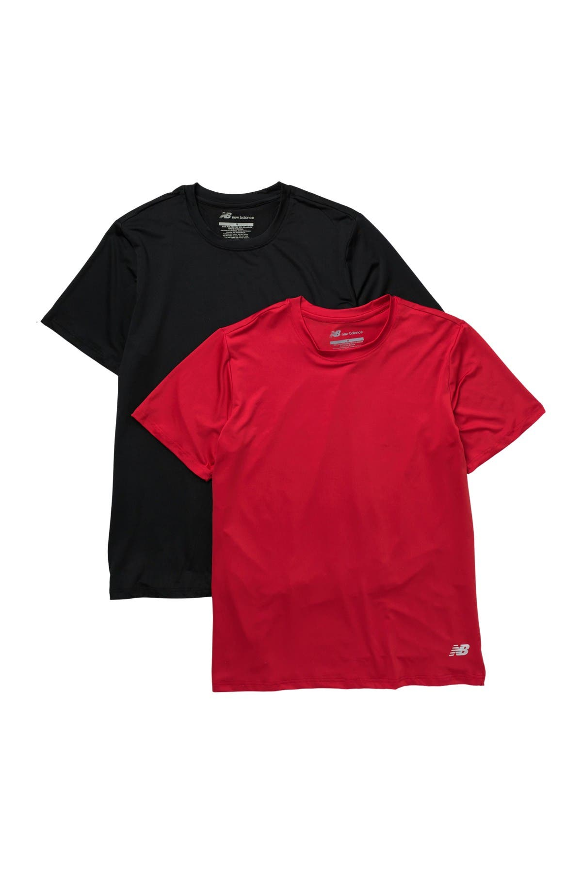 Image of New Balance Performance Crew Neck T-Shirt - Pack of 2