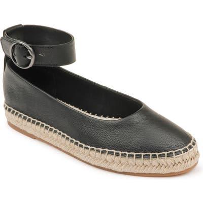 Splendid Ace Espadrille Ankle Strap Flat, Black