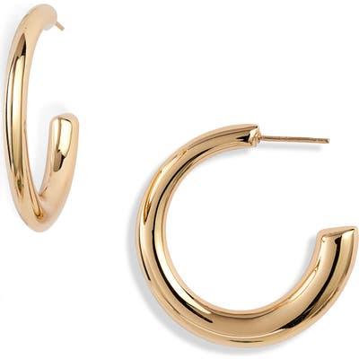 Argento Vivo Soho Large Tapered Hoop Earrings