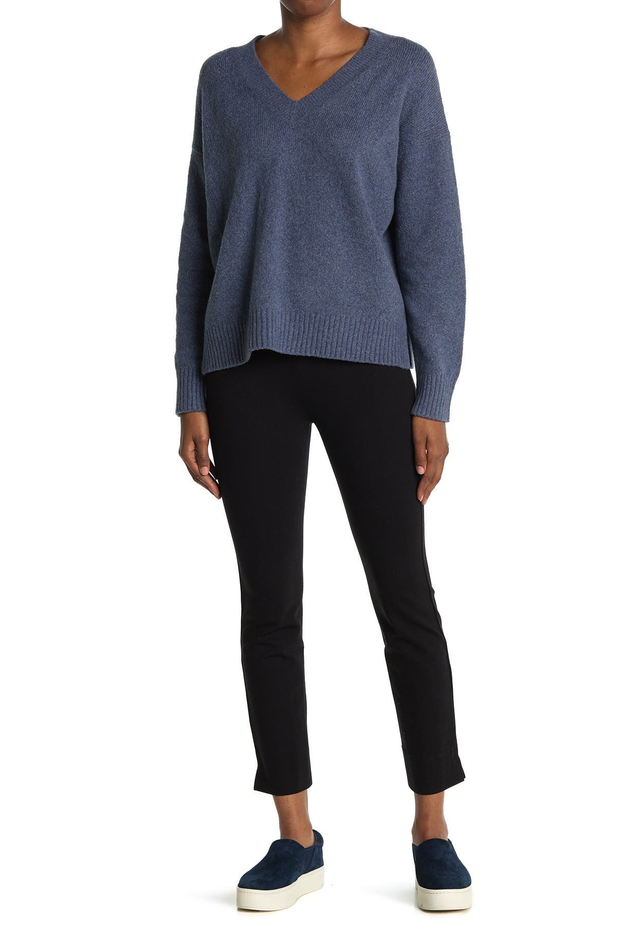 Image of Vince Slim Fit Pull-On Trousers