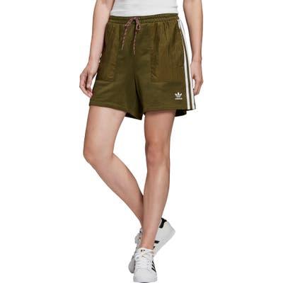 Adidas Originals 3-Stripes Shorts, Green