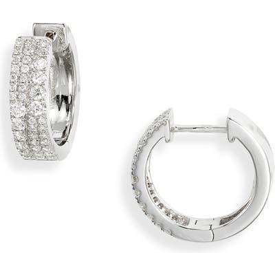Bony Levy Bardot Luxe Diamond Hoop Earrings (Nordstrom Exclusive)